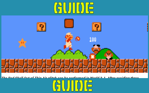 Guide For Super Mario Brothers 1.0 screenshots 7