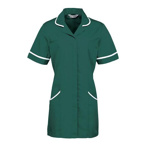 Vitality Healthcare Tunic (Navy/ White)