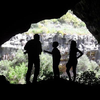 Nelle grotte di Pantàlica di didatticarte