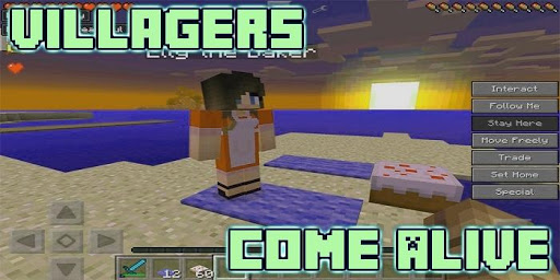 Villagers Come Alive Mod for MCPE 5.0 screenshots 3