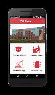 PTU Papers screenshot