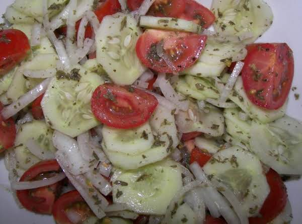 Lisa's Three Vegetables Salad Recipe