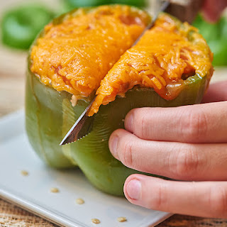 Cheesy Stuffed Peppers.
