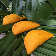 STUSH Ackee & Salted Tofu Jamaican Pattie