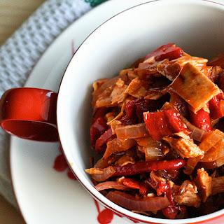 Spanish-Style Tuna Salad with Piquillos & Onions.