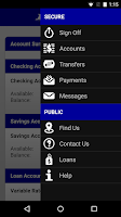 Screenshot of Royal Credit Union Business