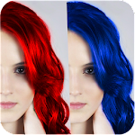 100+ Hair Color Changer 1.0 Apk
