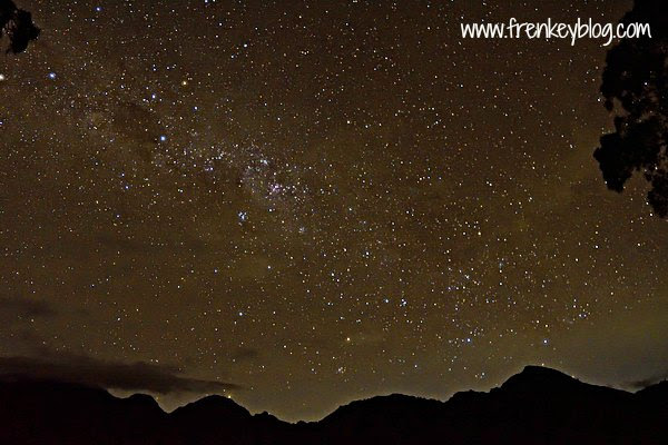 Bintang Malam di Danau Segara Anak