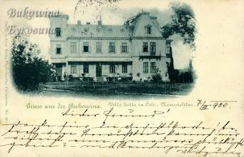 Photo: Австрійська Новоселиця. Вілла Флондора-Зотта. Фото 1899 року.