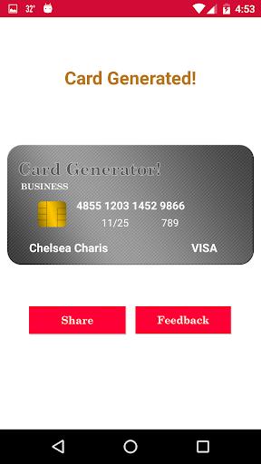 ... Dummy - Fake Credit Card Generator screenshot 6 ...