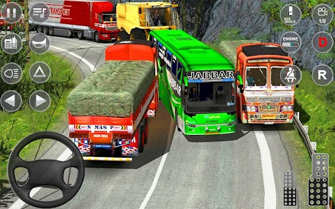 Indian Truck Spooky Stunt : Cargo Truck Driver 3