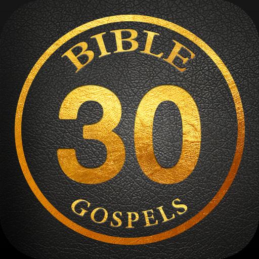 30 Day Study Gospels Challenge-Offline Bible Study