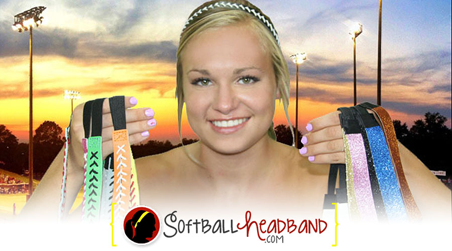Softball Leather Headbands