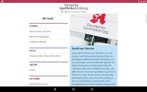 Deutsche Apotheker Zeitung screenshot 6