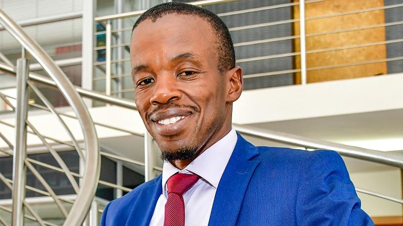 SITA CEO Setumo Mohapi. (Photograph by Dylan Mohlala)