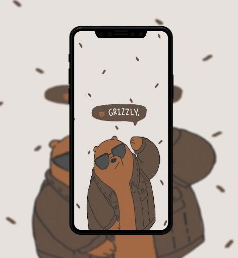 Cute Bear Cartoon Wallpaper screenshot 5