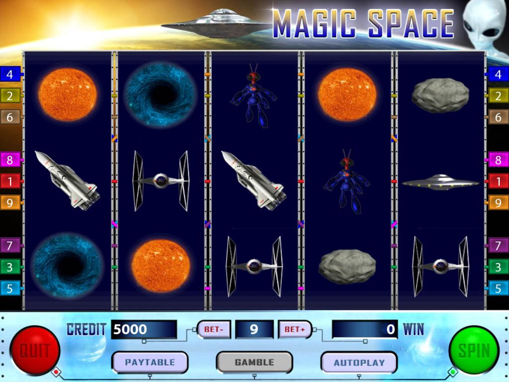 Deep Space Slots - Free to Play Demo Version