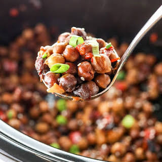 Kung Pao Chickpeas (in a Slow Cooker!).