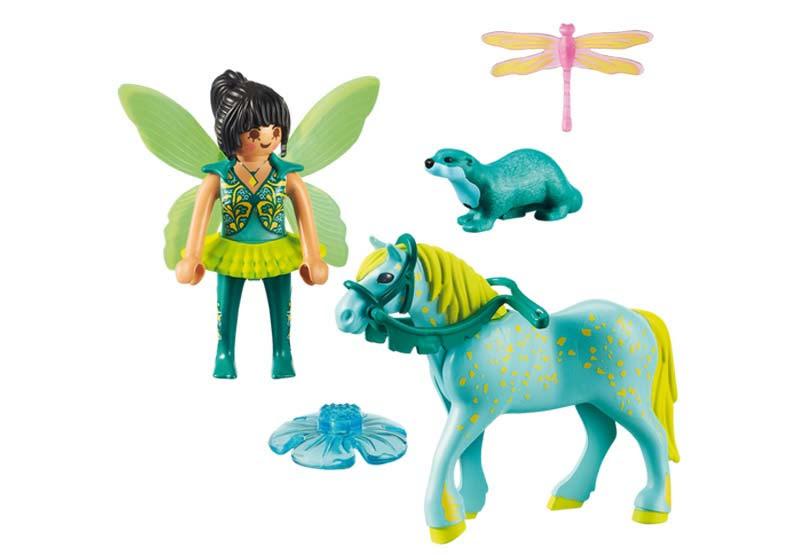 Contenido real de Playmobil® 9137 Hada con Caballo