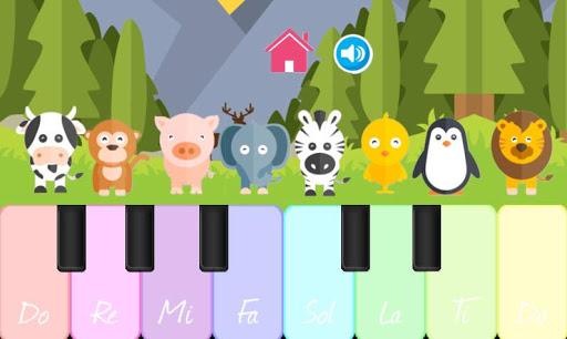 動物のピアノ