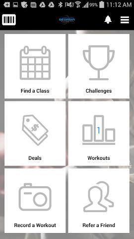 android Georgia Fitness Screenshot 2