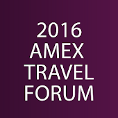 2016 AMEX Travel Forum
