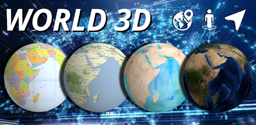 Map Of The World 3d.World 3d Live Earth Globe View Real Time Google Play Programos