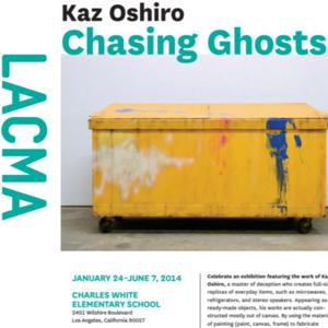 Kaz Oshiro, Chasing Ghosts
