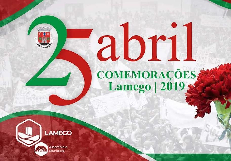 Comemorações 25 de Abril - Dia da Liberdade em Lamego - 2019