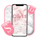 Os11 Pink Marble Keyboard Theme Android apk