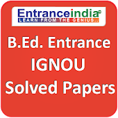 B.Ed. Exam (Entrance) IGNOU Solved Papers
