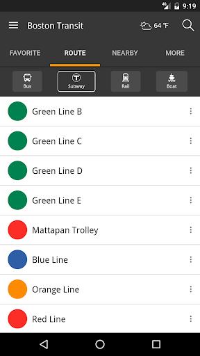 玩免費遊戲APP|下載Boston Transit: MBTA Tracker app不用錢|硬是要APP