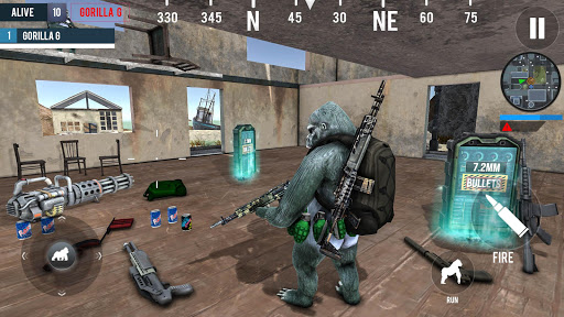 Gorilla G Unknown Simulator Battleground  screenshot 3