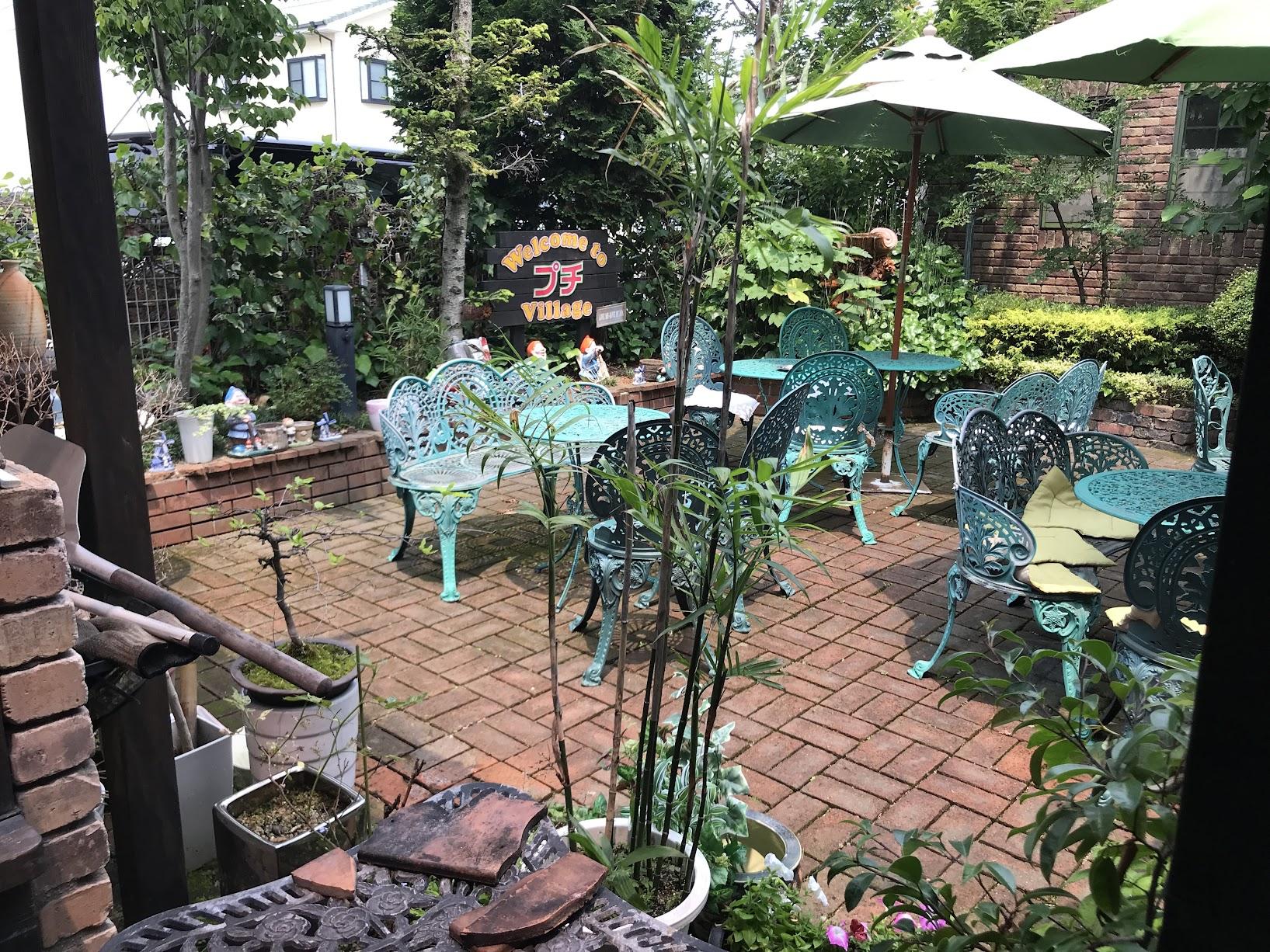 プチ珈琲館中庭
