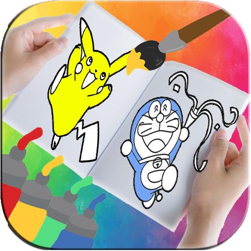 Cartoons Coloring Book