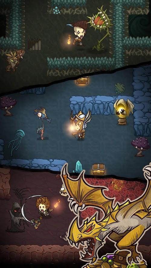 Screenshot 2 The Greedy Cave 1.8.6 APK MOD