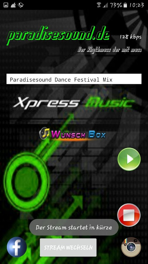 Paradisesound – Screenshot