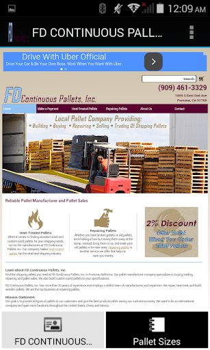 FD Continuous Pallets INC