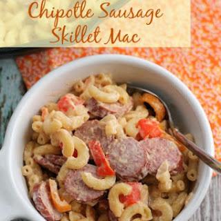 Chipotle Sausage Skillet Mac