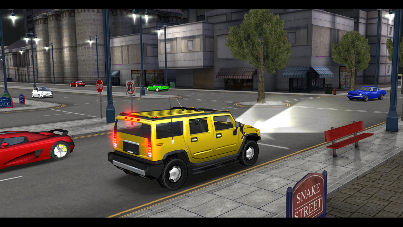 Super car city driving sim free games free online - Car Driving Simulator Sf Screenshot
