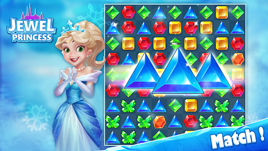 Jewel Princess – Match 3 Frozen Adventure 5