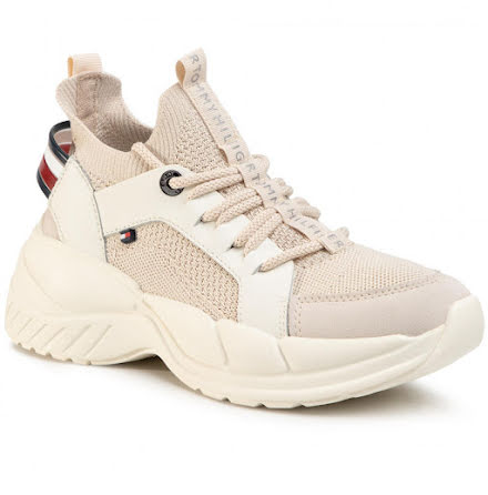 Chunky Sole Trainers, sugarcane