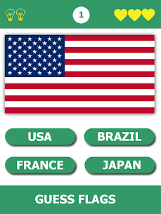 Flag Quiz Gallery : Quiz flag name and color 1