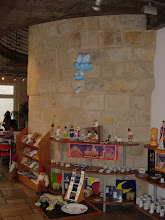 Photo: Here, in a toy store at 4 Passage du Commerce St-Andre, a recently-cleaned tower, reportedly close to demolition a few years ago to make space for a fast-food restaurant!