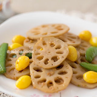 Stir-Fry Lotus Root