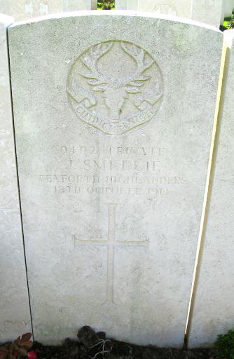 John Smellie (Smaillie) grave