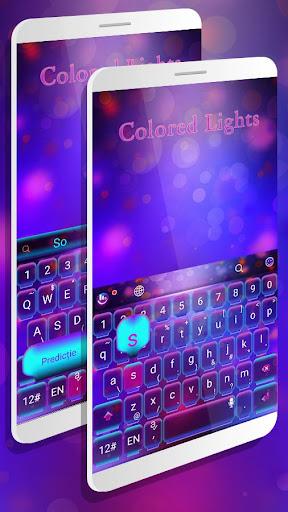 Colored Lights Keyboard