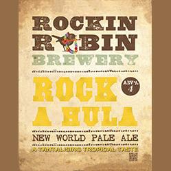Logo of Rockin Robin Rock A Hula