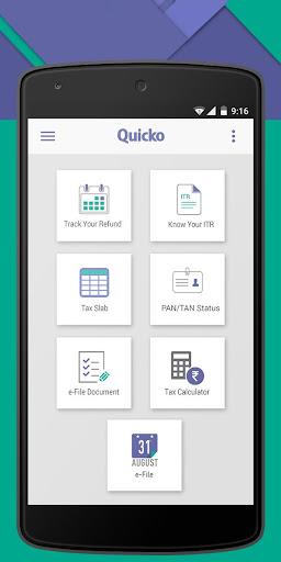 Quicko Income Tax App