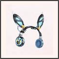 黒ミミヘッドセット